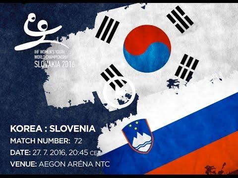 KOREA : SLOVENIA