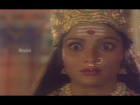 Sri Devi Mookambika Movie Scenes - Dakshayani objects her ...