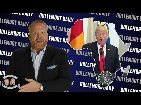 Donald Trump Makes Up African Country of #Nambia in Front of African Delegation! - #DollemoreDaily