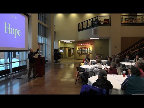 Sheridan Senior Center Dementia Friendly Wyoming project launch with Dr. John Zeisel