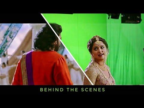 CGI & VFX Behind the scenes /Bahubali 2 The Conclusion Romantic Scene Divasena Reaction