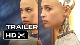 Ex Machina Official Trailer #1 (2015) - Domhnall Gleeson, Oscar Isaac Movie HD
