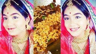 Shooting of Padmavati    Cooking Masala Maggi    Happy me VS Unhappy me    Hindi Vlog