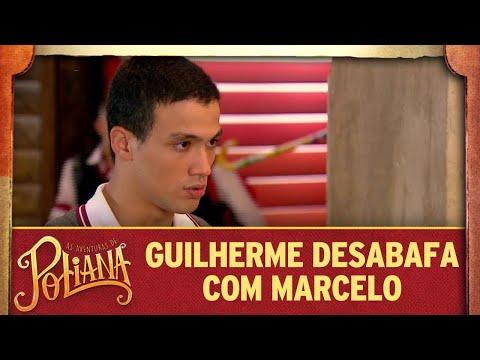 Guilherme desabafa com Marcelo sobre dupla identidade | As Aventuras de Poliana