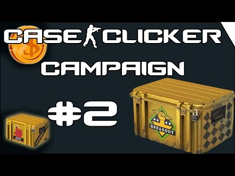 Case Clicker Campaign #2 |  Gold Nova 1 - Master Guardian 2