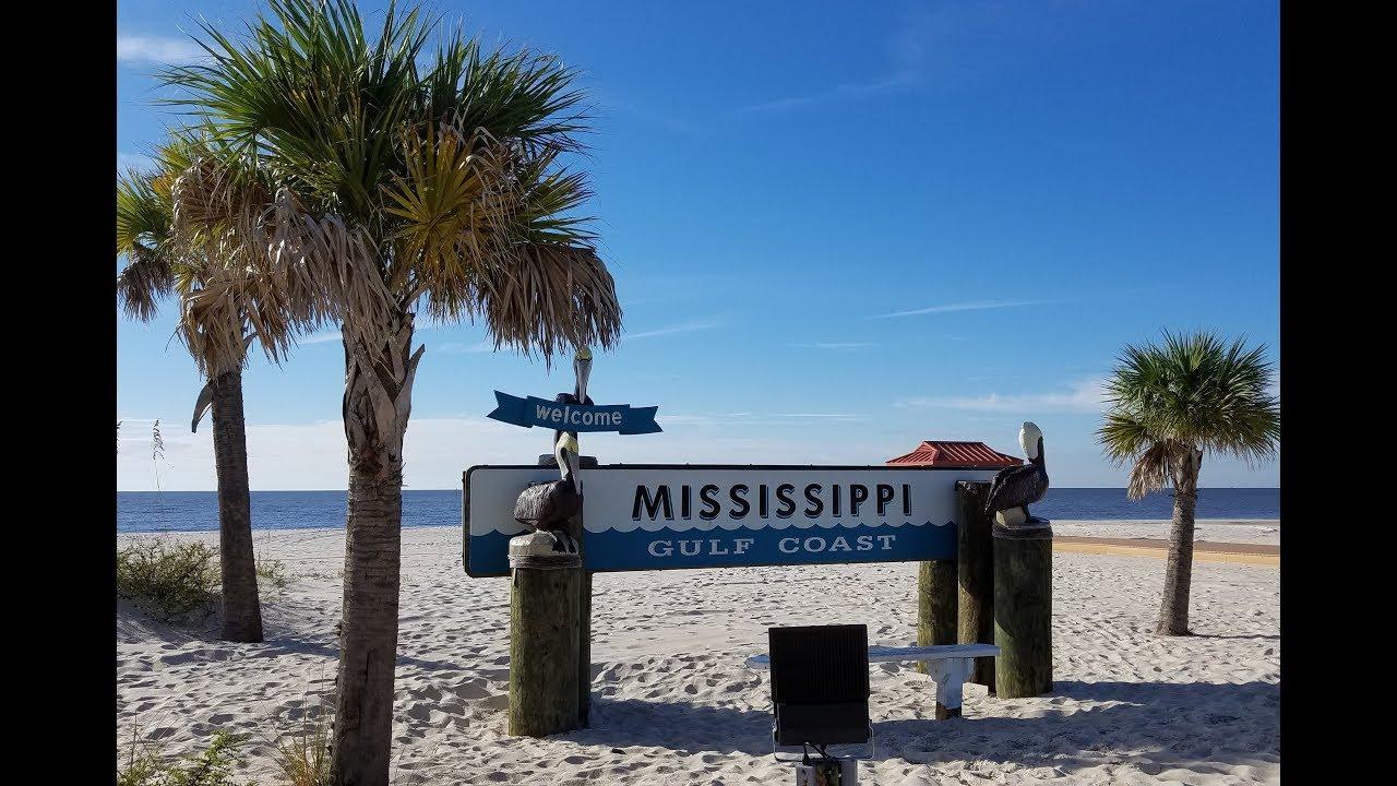 Biloxi Mississippi Beach Youtube