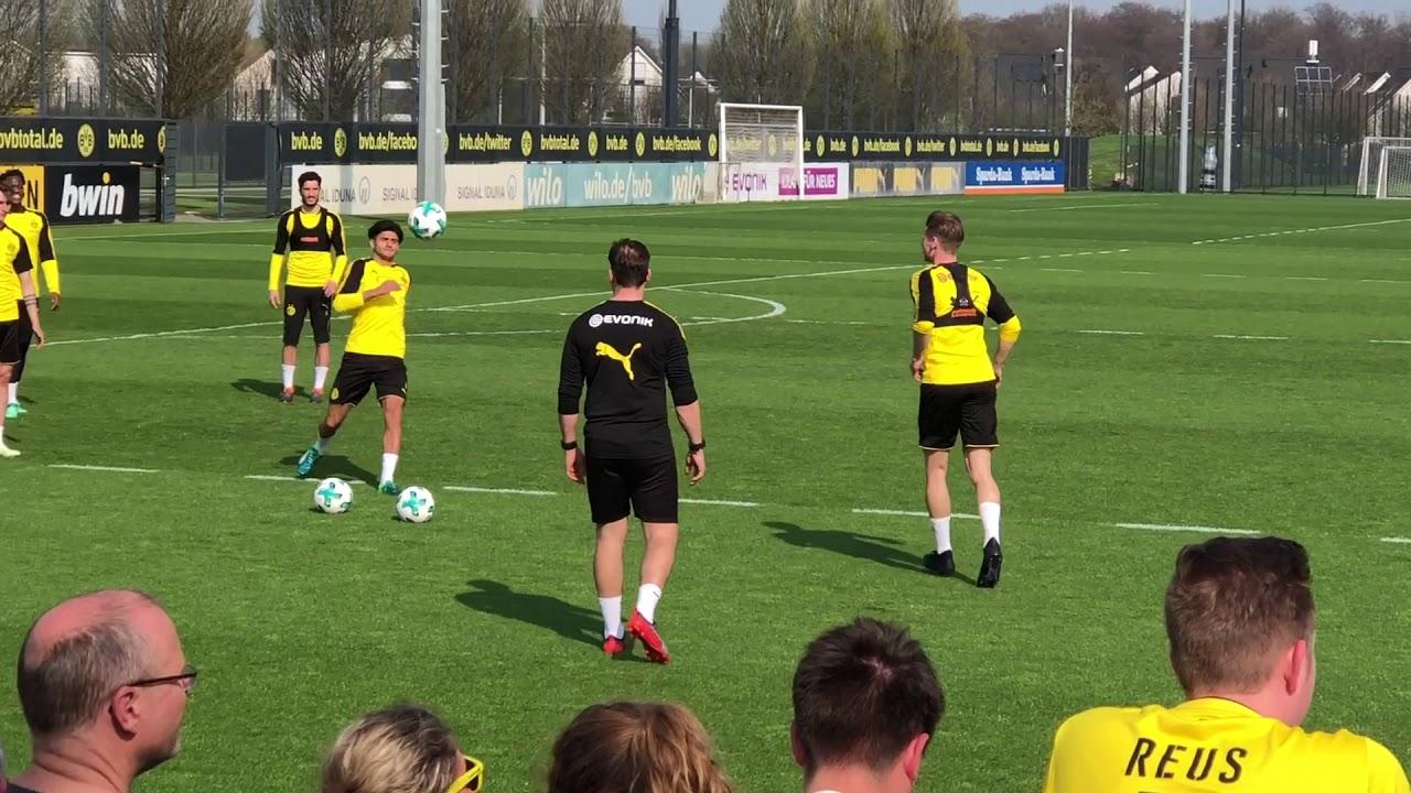 Öffentliches BVB-Training in Brackel am 10. April