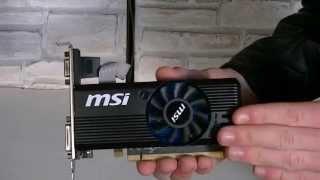msi amd radeon r7 240 2gb ddr3 graphics card unboxing