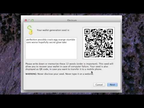 Easy Bitcoin Electrum Wallet/Client tutorial for beginners. 2014.