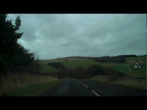 Driving to Wooler