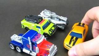 Wallas Przedstawia 10 - RPMs Optimus Prime, Bumblebee, Megatron & Ratchet PL