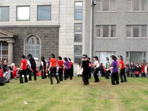 Dancing in Reykjavik