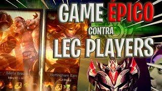 JUEGO CONTRA LEC PLAYERS (PERKZ + MIKYX) *EPIC* - ElmiilloR
