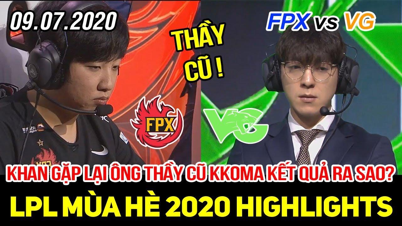 [LPL 2020] FPX vs VG FULL Highlights   Khan đối mặt với thầy cũ Kkoma, cái kết không ai ngờ tới