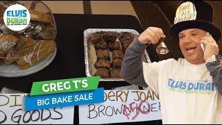 Greg T's Big Bake Sale | Elvis Duran Exclusive