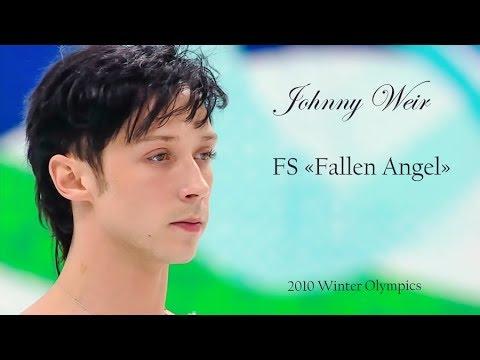 """Johnny Weir - FS """"Fallen Angel"""", 2010 Olympics"""