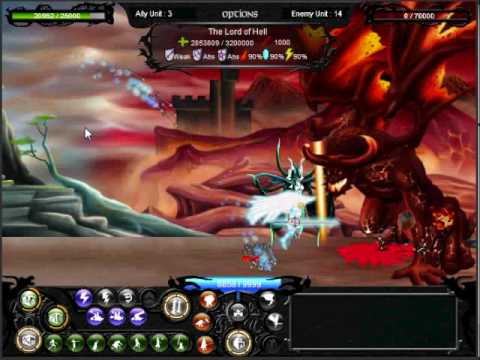 Epic war 2 walkthrough lord of hell level 18