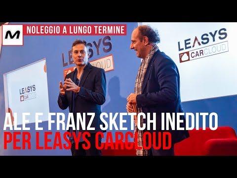 Ale e Franz | Sketch inedito per presentare Leasys CarCloud