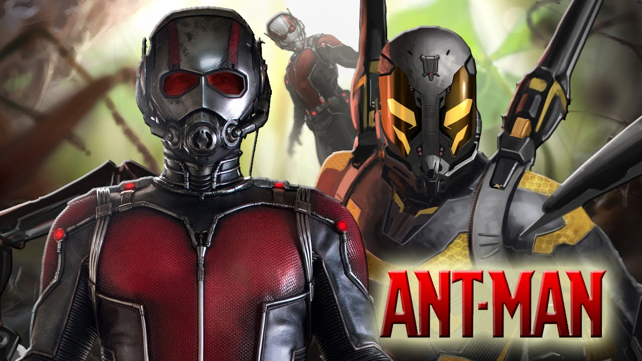 how to build antman suit