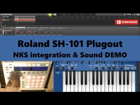Roland SH 101 FREE NKS Tutorial Techno Sound (2017)