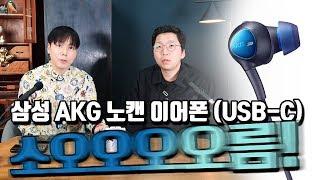 소름반전!? 삼성 AKG 노캔 이어폰 2019 (USB-C) feat. 황금귀 이숲