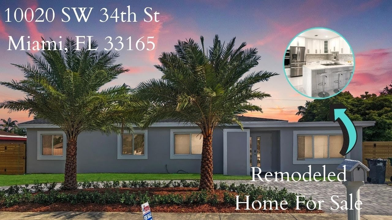 Remodeled Home In Miami