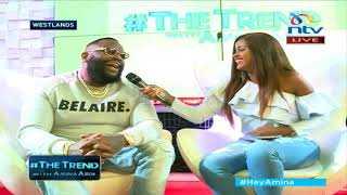 #theTrend: American rapper, Rick Ross finally in Kenya