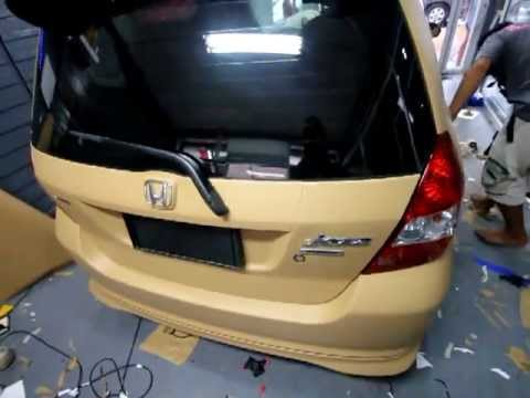 CAR WRAP JASS LIGHT BROWN ORACAL 651 N.081 - YouTube