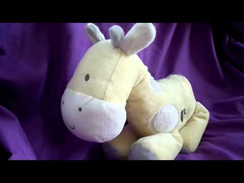 Carters Just One You Musical Giraffe Yellow Wind Up Baby Brahms Lullaby Twinkle