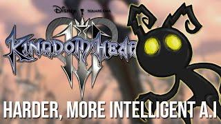 Kingdom Hearts 3 News - Harder, More Intelligent A.I?