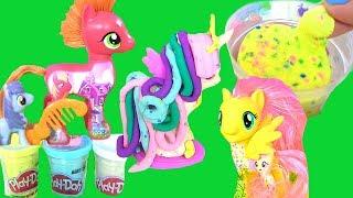 Play Doh Pony ПОНИ СВОИМИ РУКАМИ из Плей До! Пластилин для Детей #Май Лито Пони Мультик