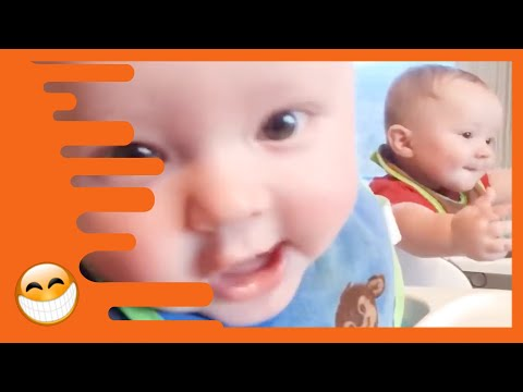 Funny Twins Babies Playing Together -  Funny Baby Family