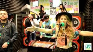 Andreea Banica feat. Shift - Rupem boxele (Live la Radio ZU)