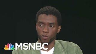 Chadwick Boseman Stars In Dynamic Thurgood Marshall Biopic 'Marshall' | AM Joy | MSNBC