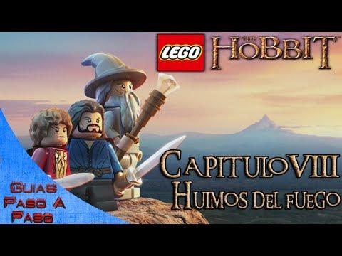 Lego El Hobbit | Walkthrough en Español | Capítulo 8 | Huimos del fuego
