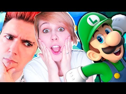 LUNA ES INMORTAL | New Super Luigi U
