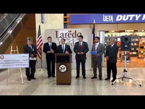 Rep. Cuellar Announces $7.8 Million in Federal Funds for Laredo Airport Improvements