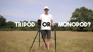 TRIPOD VS MONOPOD - Which one is better?