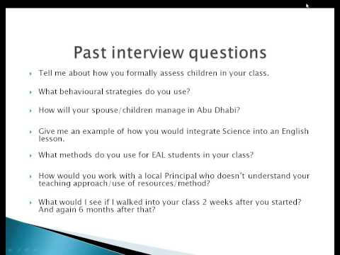 2013 02 14 17 01 Preparation for your ADEC interview