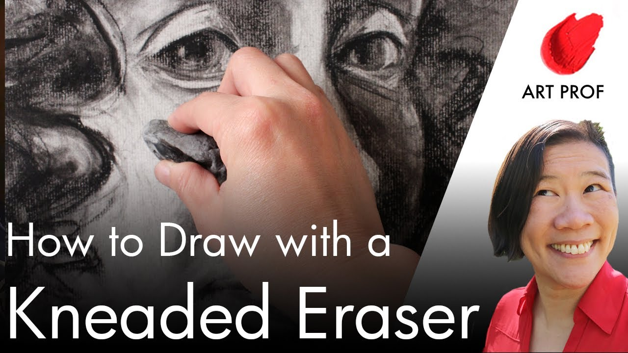 How to Draw with a Kneaded Eraser and Charcoal