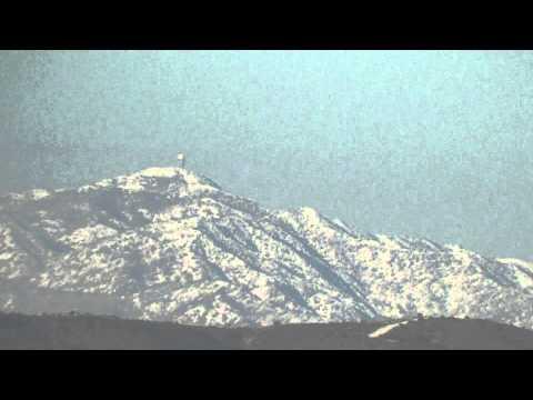 VAVATSINIA MOUNTAINS - CYPRUS 14 DEC 2013