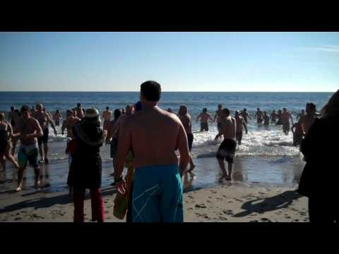 Rockaway New Years Day Polar Dip 2012