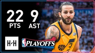 Ricky Rubio Full Game 2 Highlights Jazz vs Thunder 2018 Playoffs - 22 Pts, 8 Reb, 9 Assists!