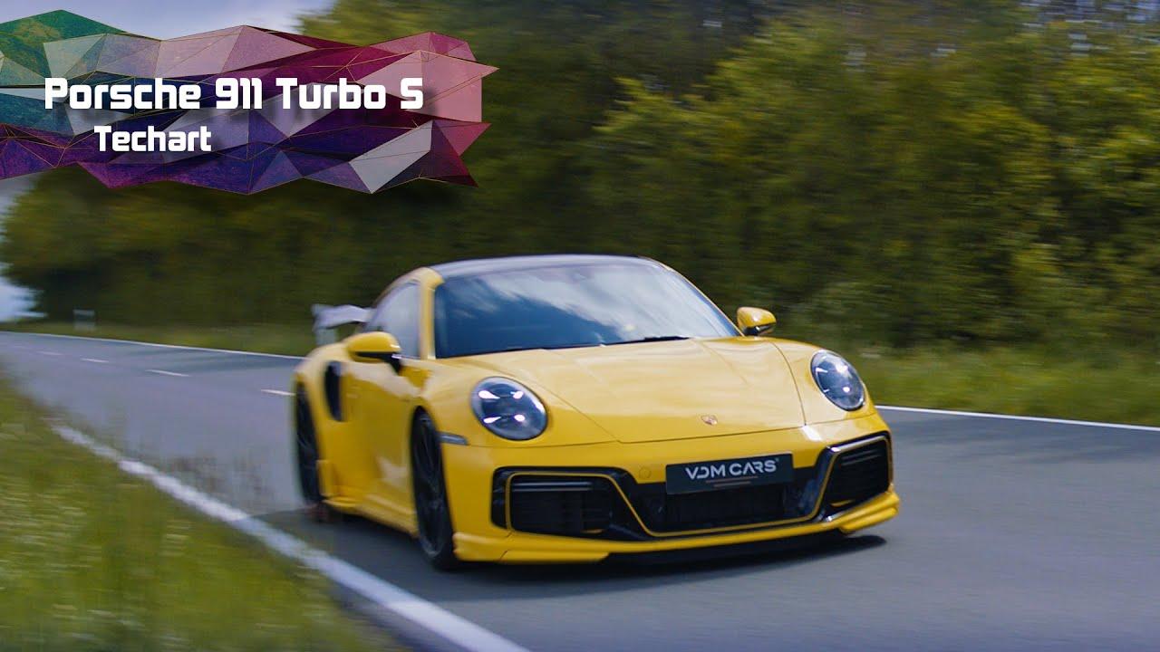 PORSCHE 911 TURBO S TECHART, 710 PK......
