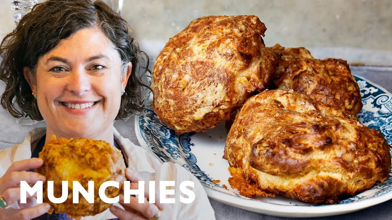 Make These Giant Cheesy Gougères | How To At Home