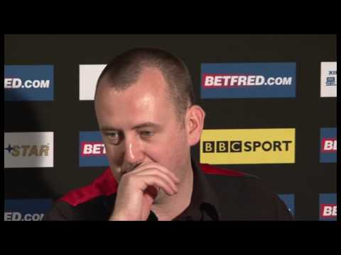 Mark Williams beaten by Ronnie O'Sullivan in the Betfred.com World Snooker Championships