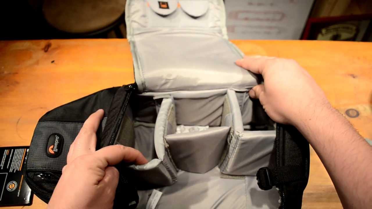 Lowepro Slingshot 102 Camera Bag Review