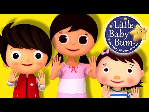 Ten Little Fingers  Nursery Rhymes   LittleBaBum!