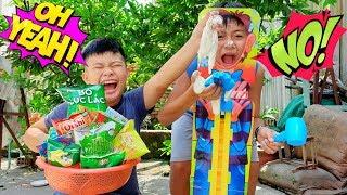 Trò Chơi Đoán Đồ Ăn Bí Mật ❤ ChiChi TV ❤ Đồ Chơi Trẻ Em kids Fun
