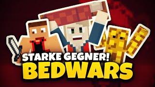 Neuer REKORD? & stärkstes GEGNERTEAM EVER!!! ★ Minecraft: BEDWARS | Herr Bergmann